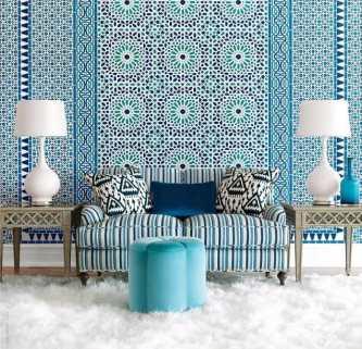 25-idées-inspirantes-décoration-maison-style-marocain-mosaique-bleu-blanc-e1408698069700