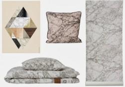 Ferm-Living-marbre-tendance-deco-affiche-coussin-linge-de-lit-papier-peint